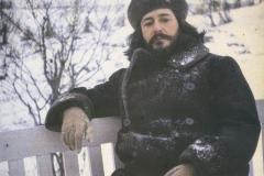 1-3 Леонид Андреев. Зимой на скамейке недалеко от дома. 1910 г. (Лидский у-нт)ХК