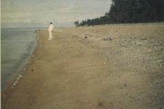 1-9 Леонид Андреев на берегу финского залива. 1913 (Лидский у-нт)ХК