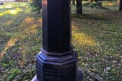 Третье захоронение. Памятник на могиле писателя. Литераторские мостки Волковского кладбища в Санкт – Петербурге.