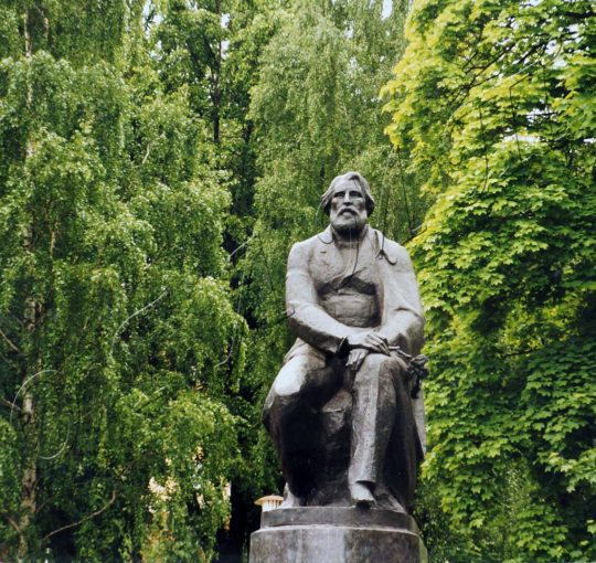 Литературная викторина, посвященная 200-летию со дня рождения И.С. Тургенева_ВОПРОС № 14