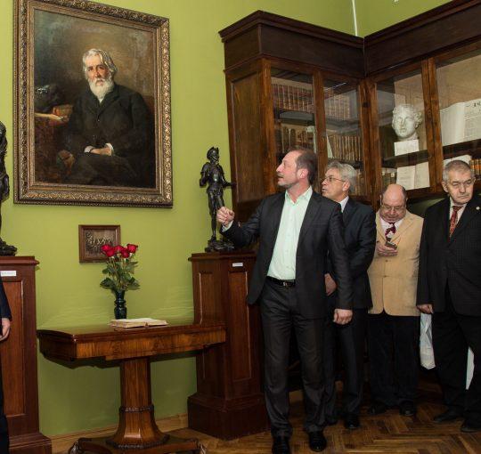 Музей Тургенева вновь открывает двери