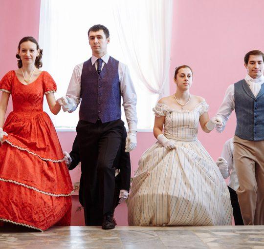 Святочные дни в музее Тургенева завершились празднованием Именин писателя.