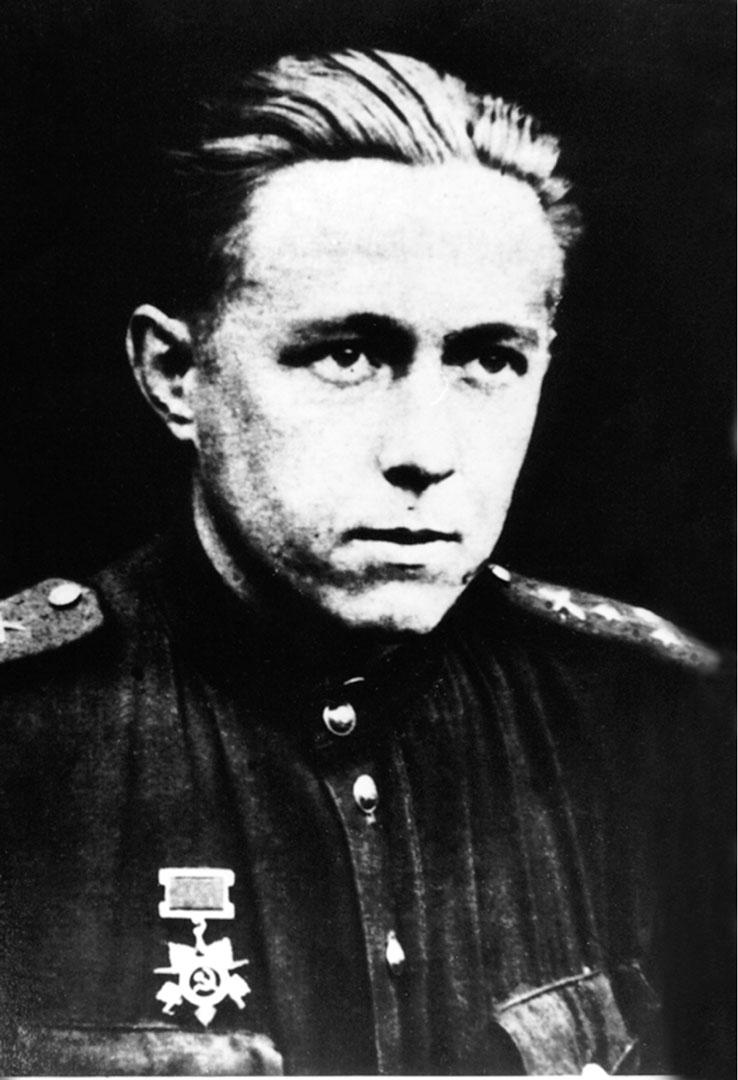 Старший лейтенант Солженицын. Брянский фронт, 194311