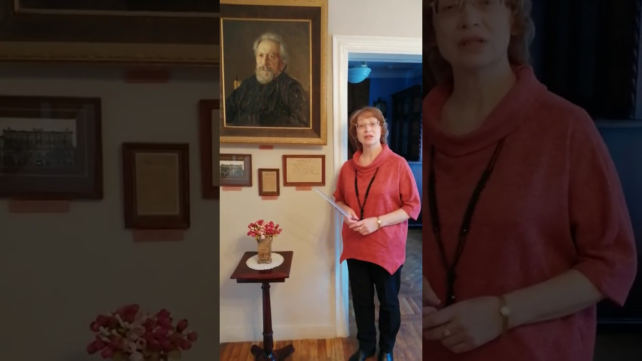 История самого знаменитого портрета Н.С. Лескова кисти великого художника А.В. Серова раскроется в видеоролике из музейной экспозиции.