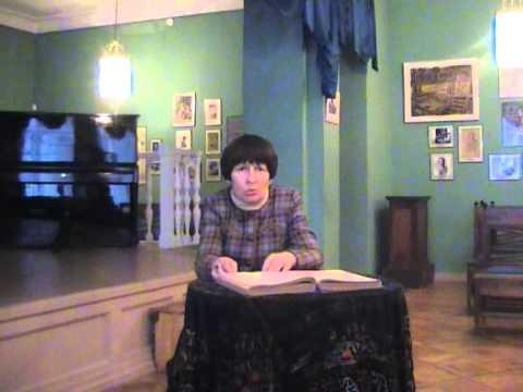 О «Дворянском гнезде» в Орле рассказывает заведующая Музеем И.С. Тургенева Елена Мельник.