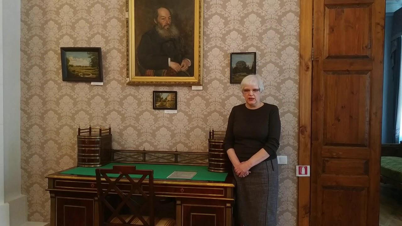Открываем цикл онлайн-экскурсий Музея писателей-орловцев «А знаете ли вы?» рассказом заведующей музеем Ларисы Михайловны Маричевой о А. Фете.