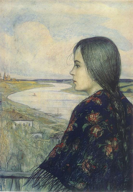Илья Глазунов - иллюстратор Н.С. Лескова.