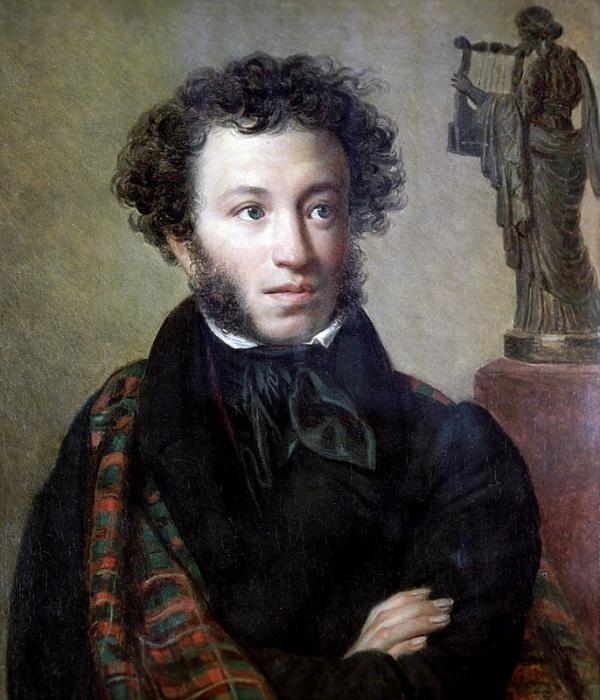А.С. Пушкин - идеал на литературной сцене.