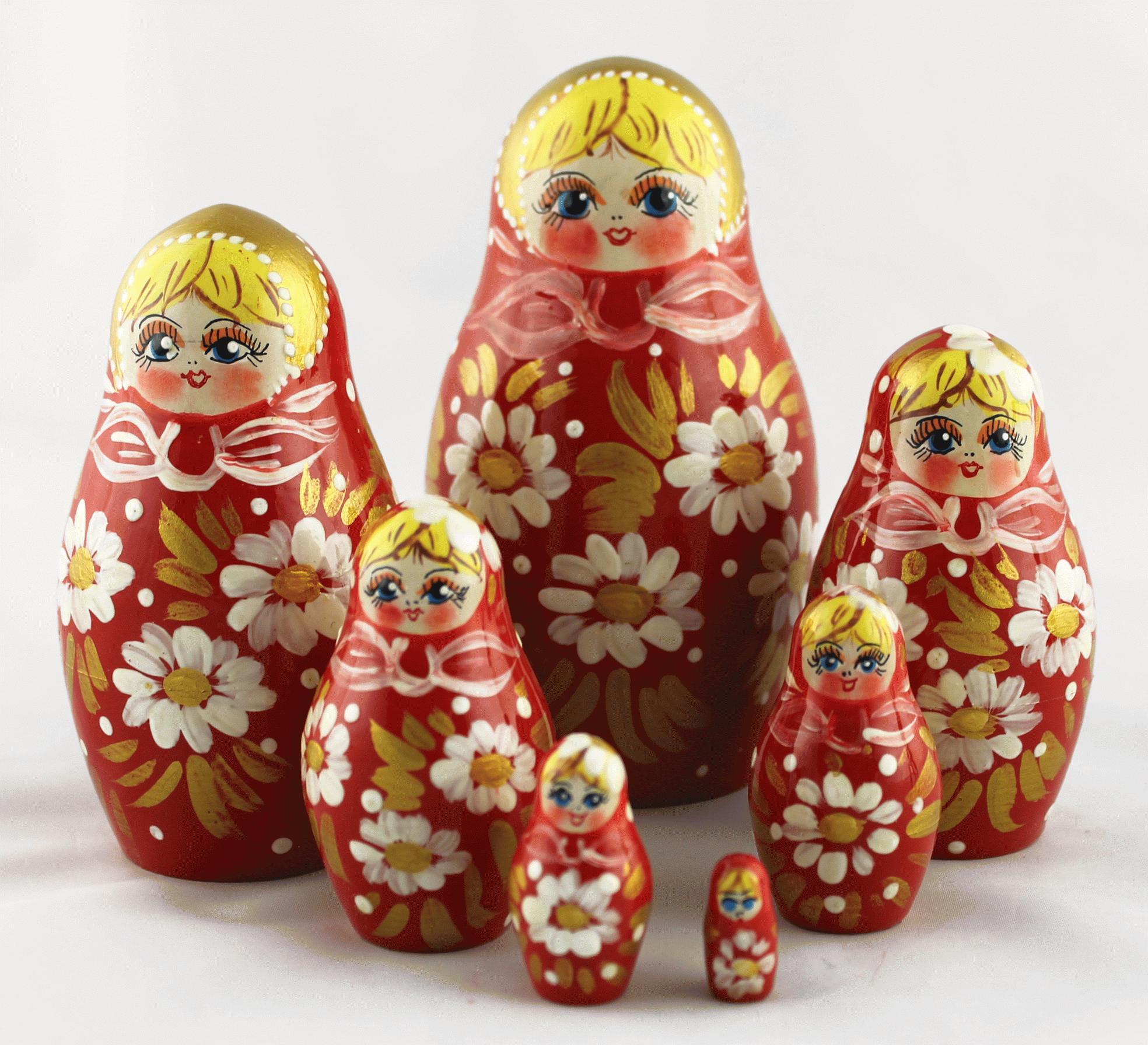 «Матрешка — русский сувенир»