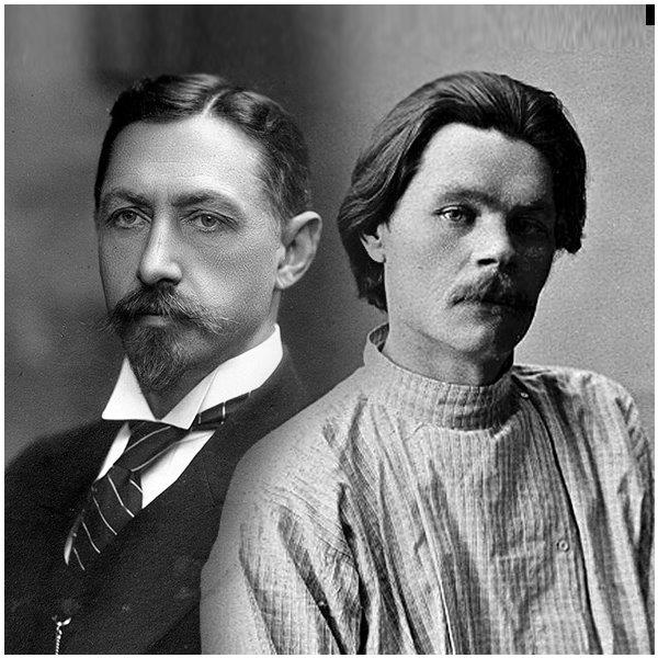 И.А. Бунин и М. Горький