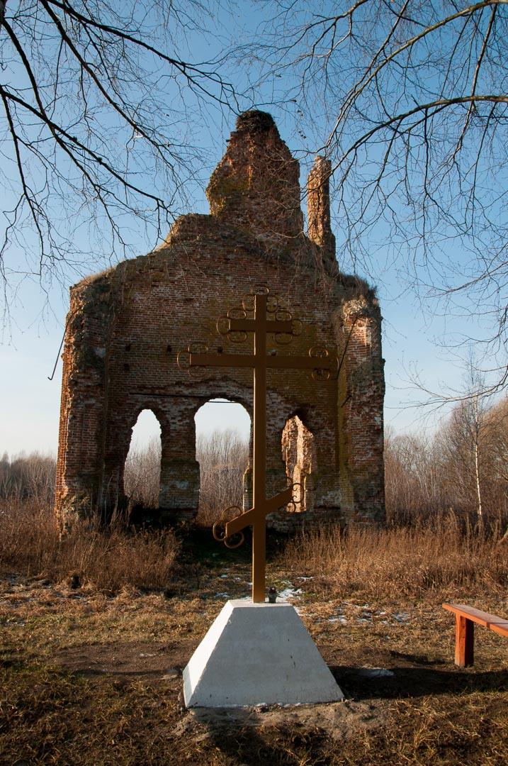 Храм в с. Лески в честь Казанской Божьей Матери.