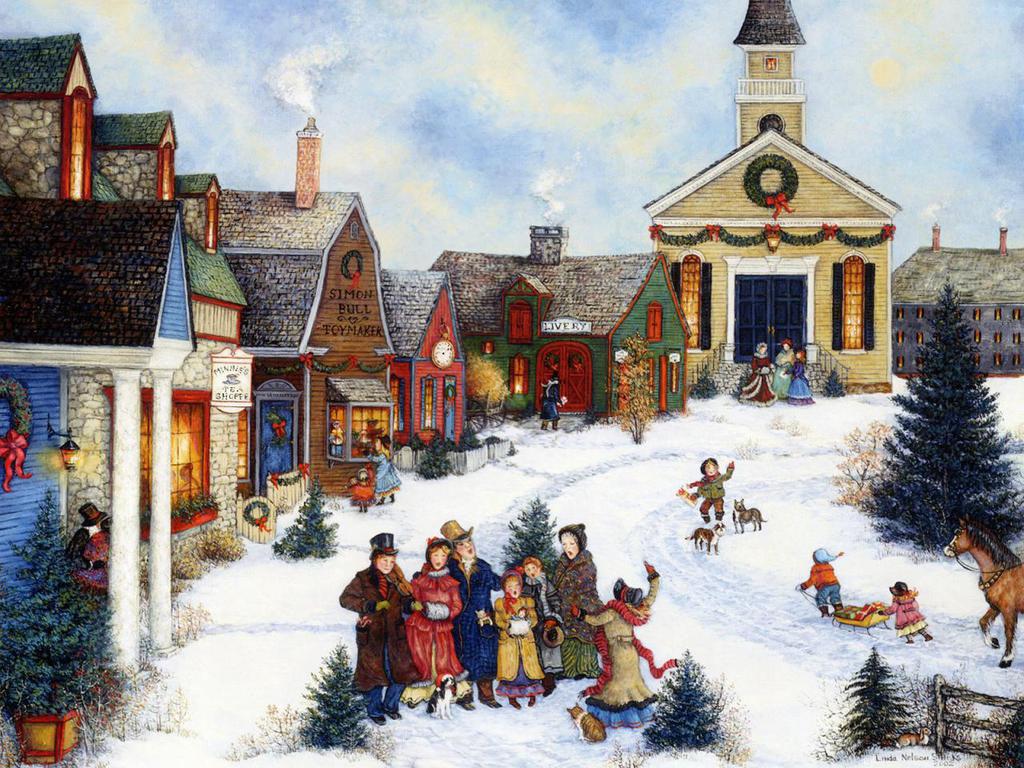 Рождественско-новогодние традиции европейского средневековья.