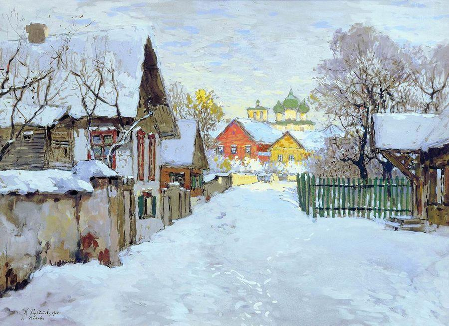 Цикл «Времена года на Орловщине в творчестве Н.С. Лескова: Декабрь»