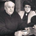 Петр Проскурин и жена Лилиана