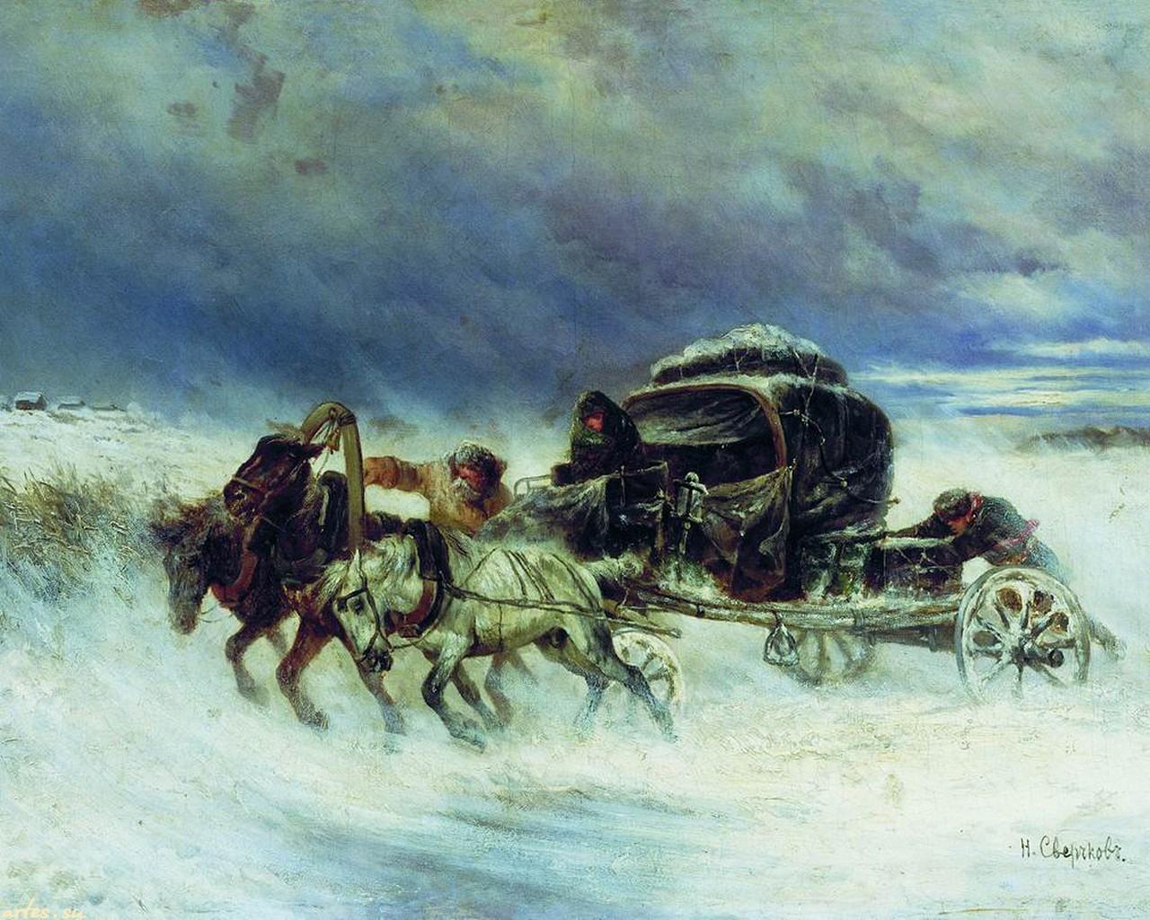 Святочные рассказы: Н.С. Лесков «Пугало»