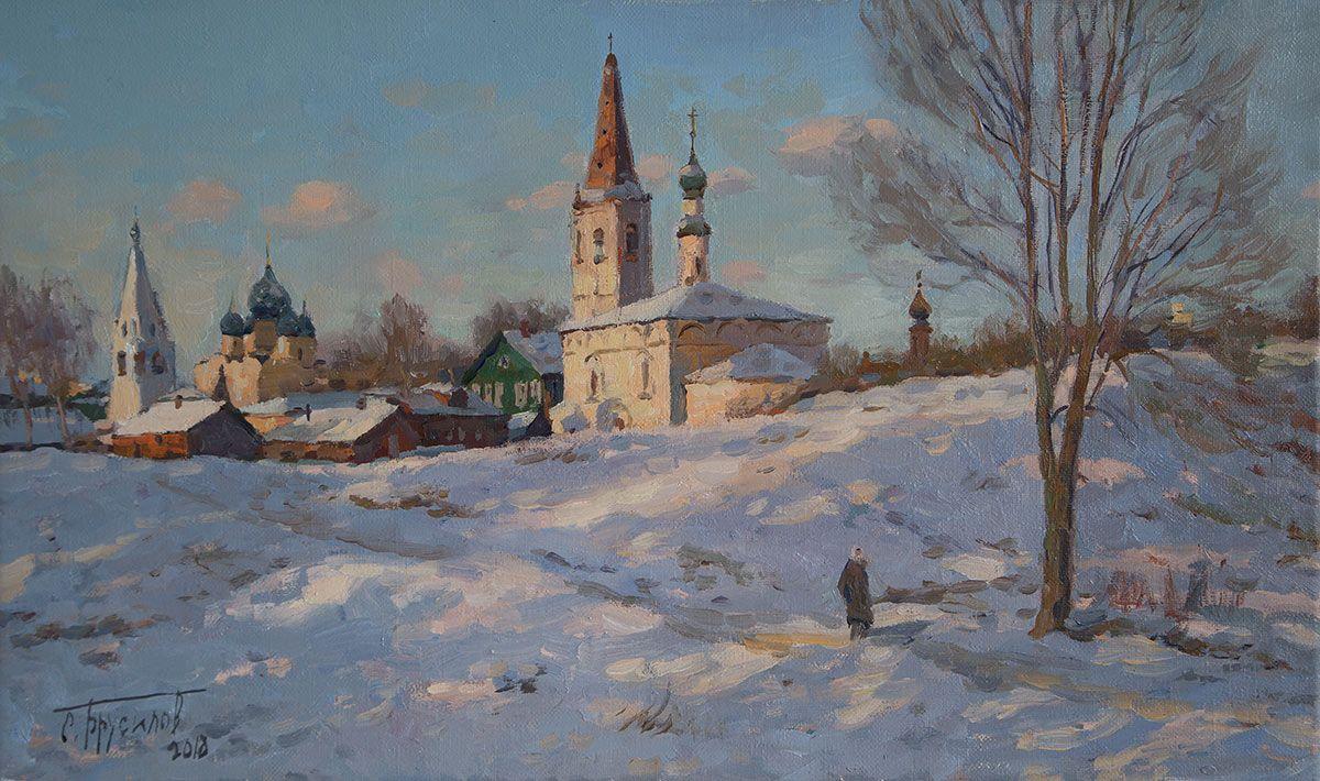 Природа в творчестве Н.С. Лескова. Январь.